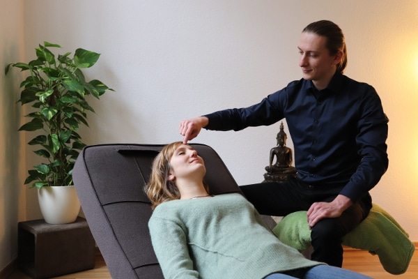 Hypnose in Leipzig - Fenz - Hypnosesitzung